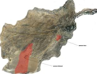 mapa-afganistan